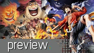 One Piece Pirate Warriors 4 Preview - Noisy Pixel
