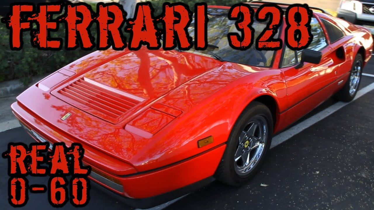 Ferrari 308 0-60