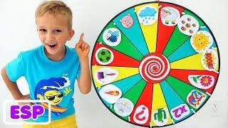 Vlad y la historia de los niños sobre la rueda mágica