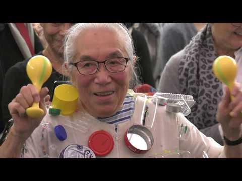 "Takako Saito. Performance ""Klangkleidermusik"",12.11.2017, MGK Siegen"