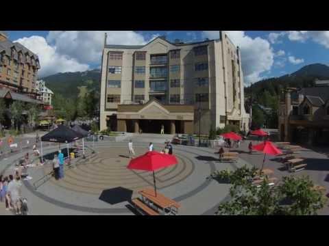 Whistler Village 3.0 -- Mountain Zone Time Lapse (Mountain Square)