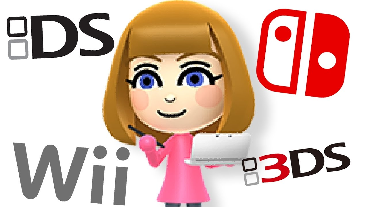 every mii maker song ds switch wiiu 3ds wii youtube