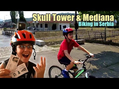 Biking in Serbia - Skull Tower & Mediana