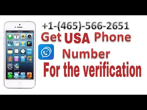 How To Get Usa Phone Number For Sms Verification