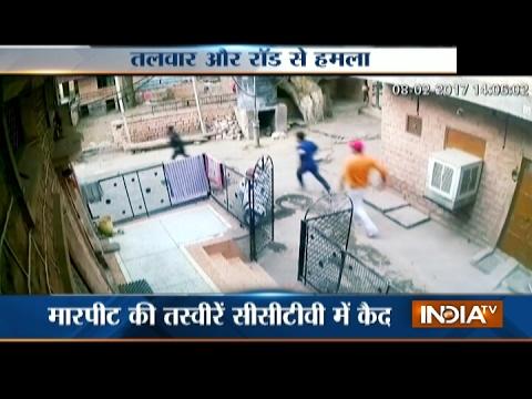 Caught On Camera: Open Fire In Gang War At Jodhpur