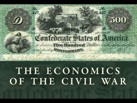 The Economics of the Civil War - Lecture 1 | Mark Thornton
