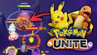 New FREE to Play Pokemon Game! POKEMON UNITE Gameplay & First Impressions
