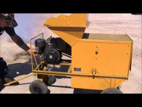 Lindig Model 389 Portable Soil Shredder