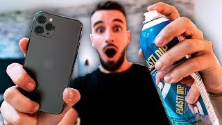 JE CUSTOM MON IPHONE 11 PRO !