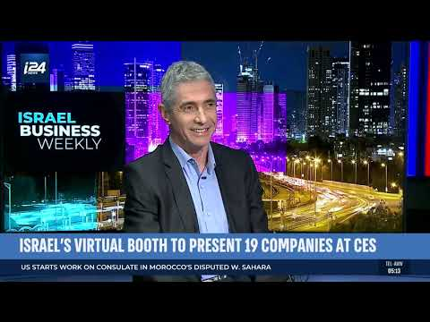 CES 2021 - Michael Admon, Israel Export Institute | ISRAEL BUSINESS WEEKLY - I24NEWS