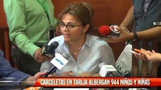 CARCELETAS EN TARIJA ALBERGAN 944 NIÑAS Y NIÑOS
