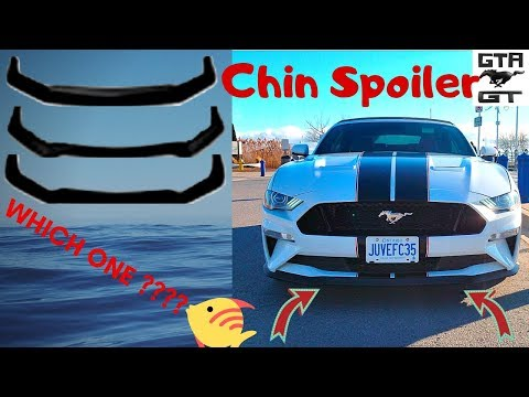 2019 mustang GT convertible Chin Spoiler. I need your help!
