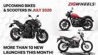 Upcoming Bike Launches In July 2020 | Honda, TVS, Royal Enfield, Suzuki, Kawasaki, Triumph & Yamaha!