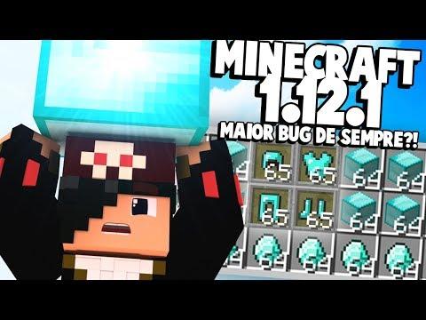 NOVO MINECRAFT 1.12.1 SAIU!!! (NOVA Duplicação de Diamantes DESTRUIU o Jogo)