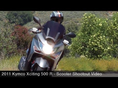 MotoUSA Scooter Shootout:  2011 Kymco Xciting 500 R