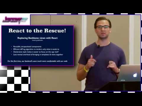 The Hybrid Backbone & React App