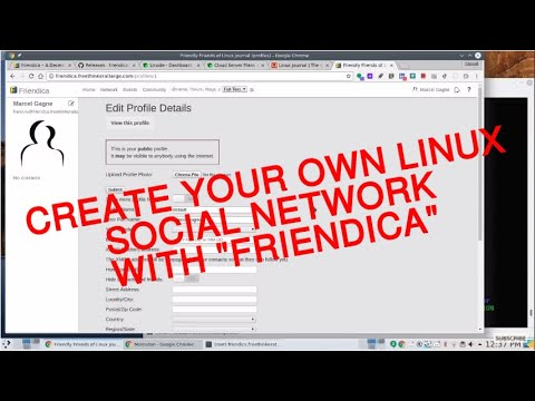 Cooking With Linux: Build Your Own Social Network With Friendica: The Tuesday Linux Journal Show