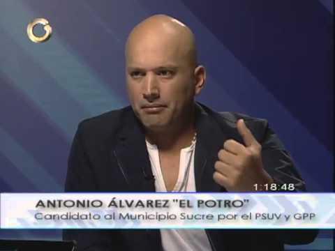 """Antonio """"El Potro"""" Alvarez:  """"Carlos Ocariz, no es mi enemigo"""""""