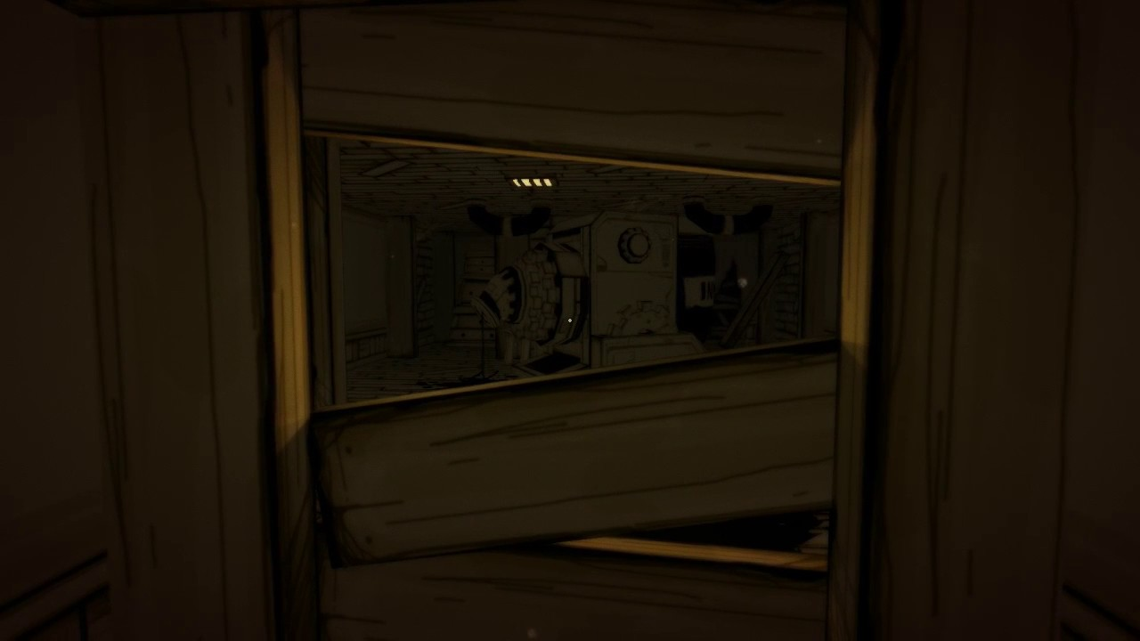 bendy and the ink machine jumpscare