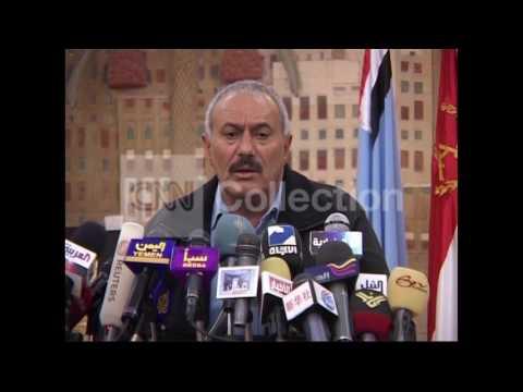 YEMEN/PRES ALI ABDALLAH SALEH PRESSER