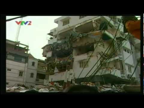 YouTube   Sập nhà 5 tầng tại Hà Nội chiều 31 3 2011