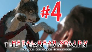 Metal Gear Solid V The Phantom Pain - Parte 4: D-DOG!!! [ Playstation 4 - Playthrough PT-BR ]
