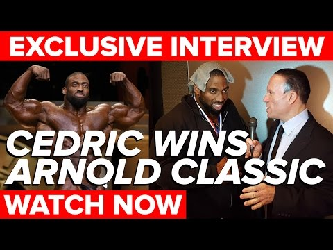 Cedric McMillan Arnold Classic 2017 Victory Interview
