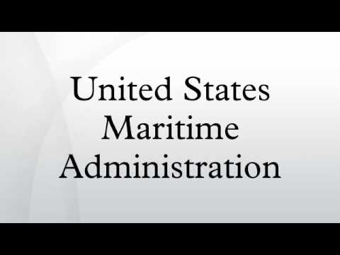 United States Maritime Administration