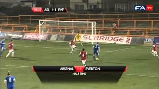 Arsenal v Everton FA Youth Cup | FATV