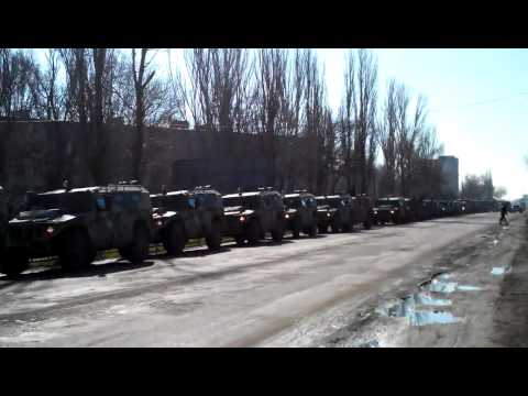 Russian troops in Krym! 3.03.2014  10:15AM
