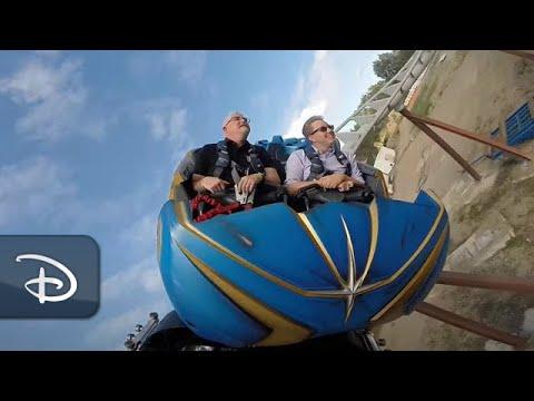 Guardians of the Galaxy: Cosmic Rewind Groundbreaking Ride System | Walt Disney World