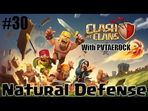 Clash of Clans - Single Player Walkthrough: Level 30 - Natural Defense