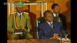 Repeat youtube video PRESTATION DE SERMENT DU PRESIDENT JUVENAL HABYARIMANA