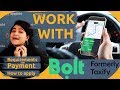 MAKE MONEY DRIVING WITH BOLT (TAXIFY) 🚗 | AppJobs.com