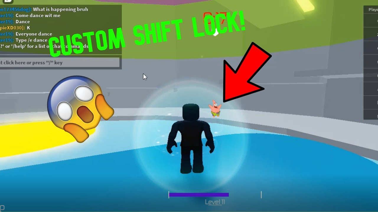 How To Get Custom Shift Lock In Roblox Youtube