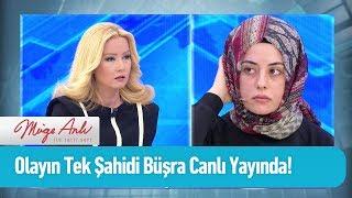 Olayın tek şahidi Büşra canlı yayında - Müge Anlı ile Tatlı Sert 19 Nisan 2019