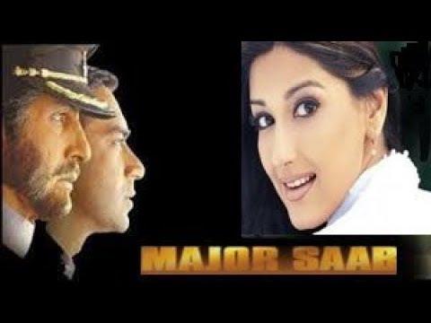 Major Saab Full Movie HD 1080p Hindi | Ajay Devgan | Amitabh Bachchan|  Love Story Movie -Youtube