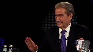 Ish-Kryeministri Sali Berisha i ftuar në Emisionin 'FAKT' ne SYRI.net përballë gazetarit Çim Peka