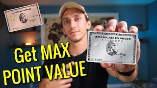 BEST Ways To Use Amex Points for MAX VALUE