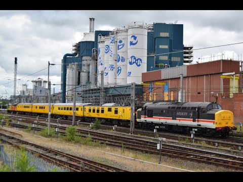 #684: Intercity Class 37254 & Colas Class 37175 pass Warrington Bank Quay (05/07/16)