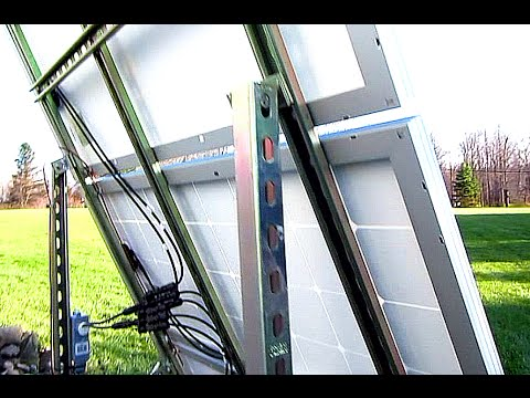 Diy Solar Panel System 300 Watts Off Grid Ground Mount
