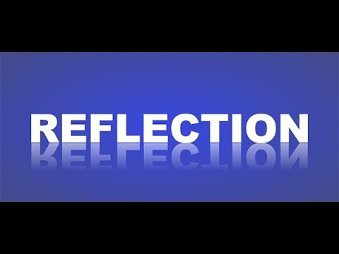 How To Make Text Reflection Effect With HTML And CSS?
