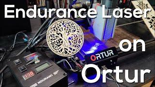 Endurance Laser On Ortur Laser Master 2 - The Ultimate Laser?