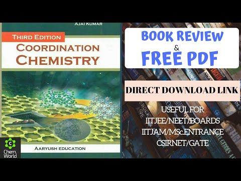 Coordination Chemistry Books Pdf
