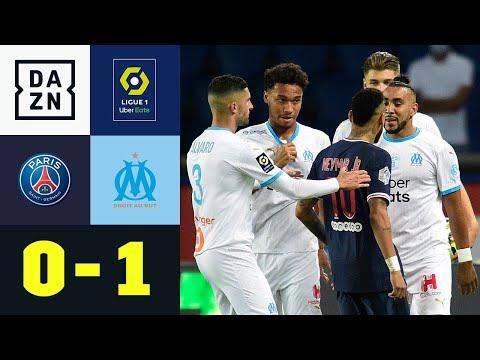 5x Rot! Neymar fliegt vom Platz, Tuchels Team bleibt punktlos: PSG - Marseille 0:1 | Ligue 1 | DAZN