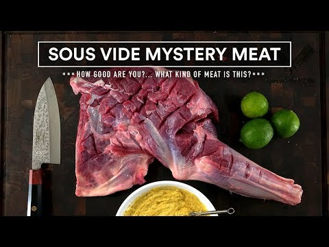 Sous Vide MYSTERY MEAT Experiment!