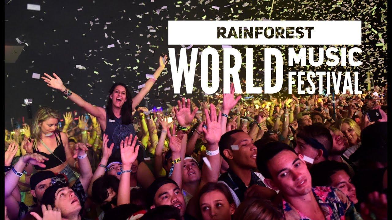 Rainforest World Music Festival 2018 Aftermovie Youtube