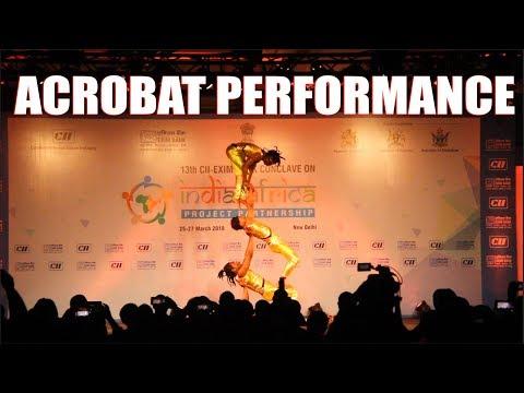 African Acrobat, CII Indo African best acrobats Zenith Dance Company