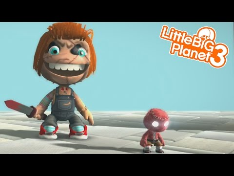 CHUCKY IS AFTER US HELP!!! | LittleBIGPlanet 3 Gameplay (Playstation 4)
