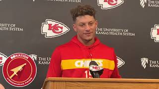 Patrick Mahomes is very excited for Sunday Night Football vs. Colts (NFL Week 5 2019)